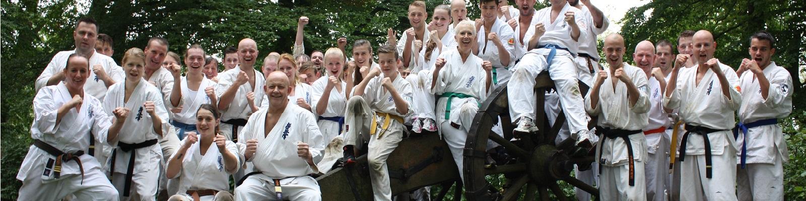 Meedoen aan kyokushin activiteiten?